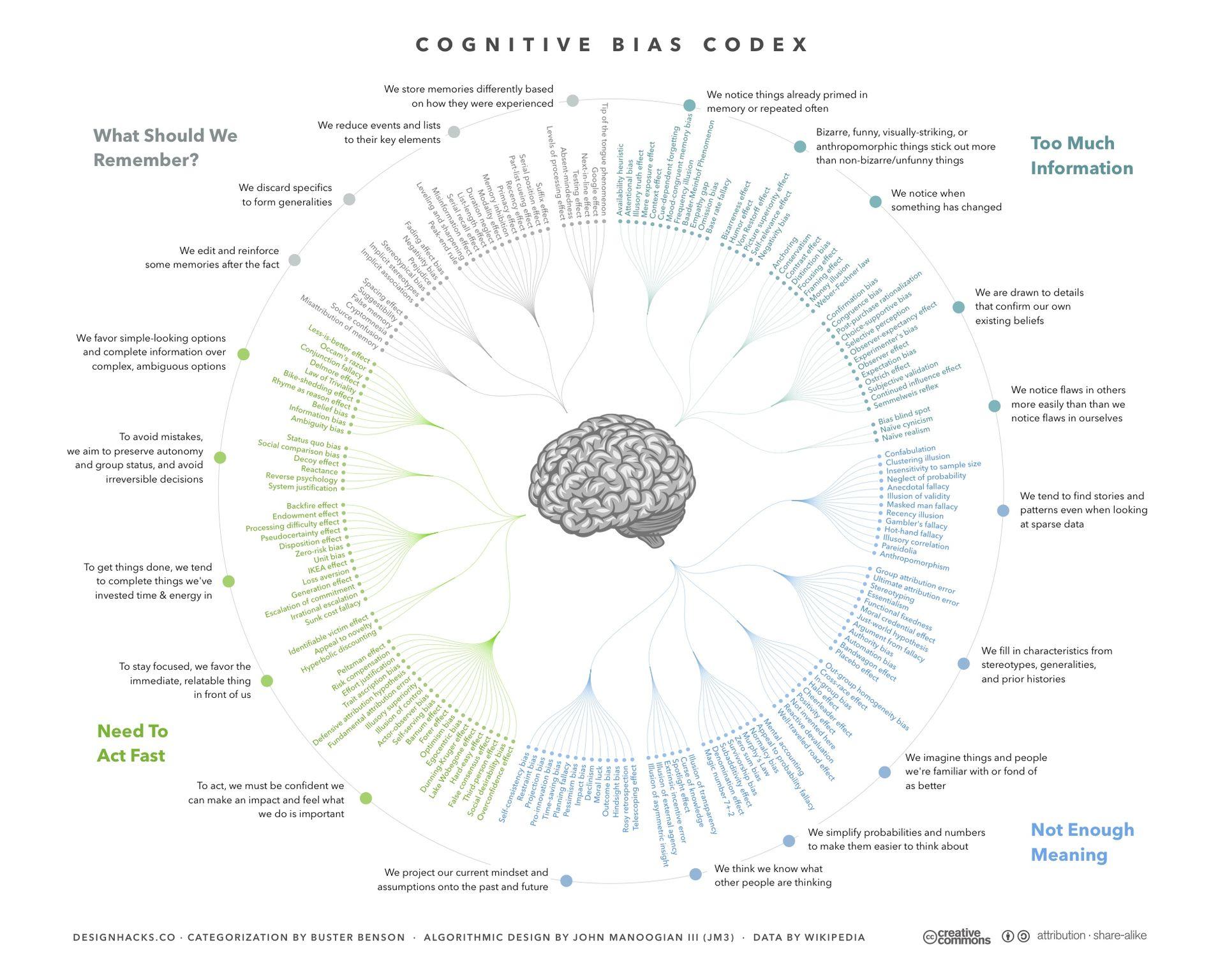 Rozhodovanie - kognitívne omyly