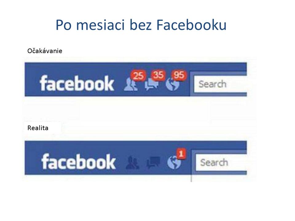 Po mesiaci bez facebooku